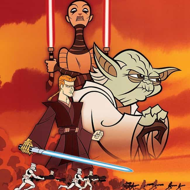Star Wars: Clone Wars is listed (or ranked) 4 on the list Every 'Star Wars' TV Series, Ranked