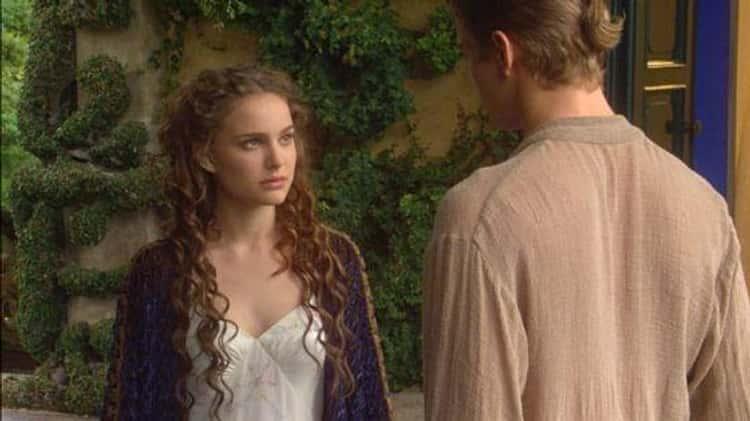 "Natalie Portman And Hayden Christensen In ""Star Wars Episode II: Attack Of The Clones"""
