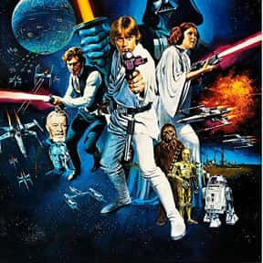 Star Wars is listed (or ranked) 13 on the list The Most Inspirational Movies Ever