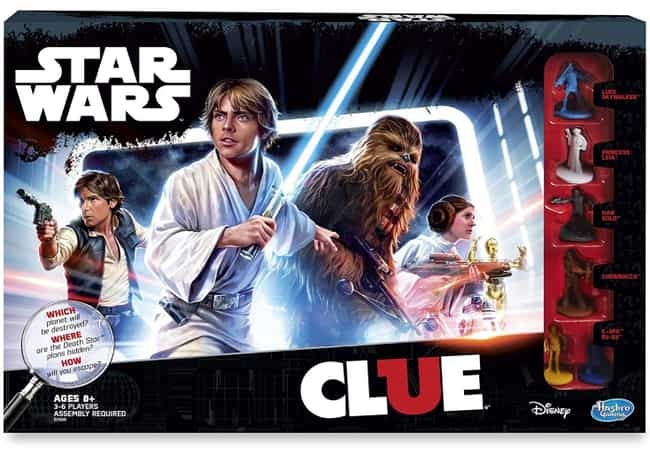 Star Wars is listed (or ranked) 4 on the list The Best Editions of Clue
