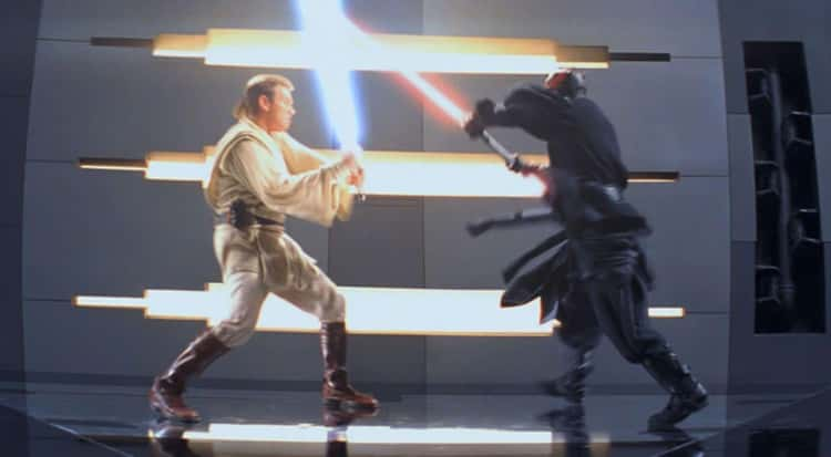 'Star Wars: Episode I - The Phantom Menace' - Darth Maul vs. Obi-Wan