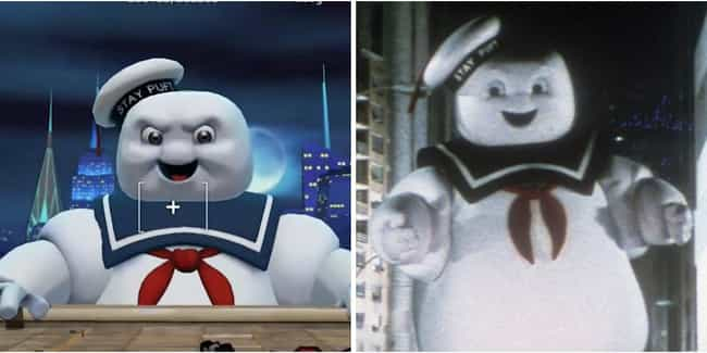 Stay Puft Marshmallow Man is listed (or ranked) 1 on the list Every Ghost In The Ghostbuster Films And Their In-Game Counterparts