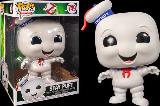 Stay Puft Marshmallow Man is listed (or ranked) 1 on the list The Cutest Funkos Of The Most Irredeemably Evil Characters