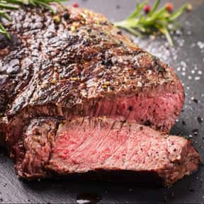 Steak is listed (or ranked) 7 on the list The Best American Foods