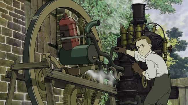 Steamboy is listed (or ranked) 4 on the list The Best Anime Like 'Howl's Moving Castle'