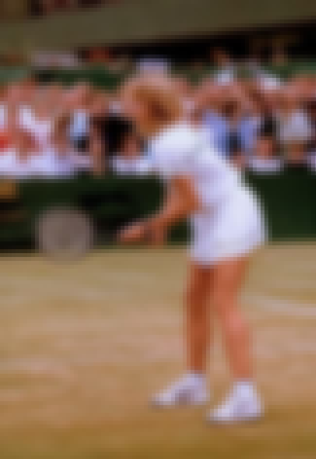 Steffi Graf is listed (or ranked) 2 on the list The Best Tennis Players from Germany