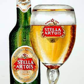 Stella Artois is listed (or ranked) 6 on the list The Best Beer Brands