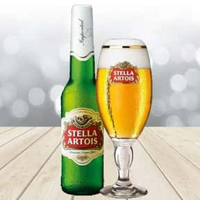 Stella Artois is listed (or ranked) 1 on the list The Best Beers from Around the World