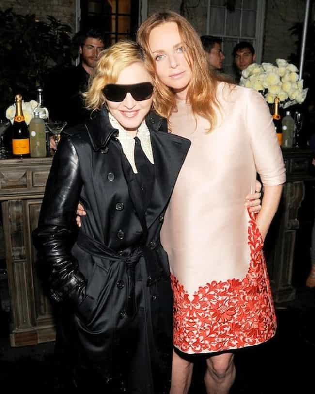 Stella McCartney is listed (or ranked) 4 on the list Famous Friends of Madonna