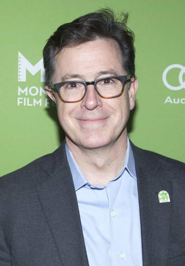 Stephen Colbert is listed (or ranked) 3 on the list 21 Famous ENTPs