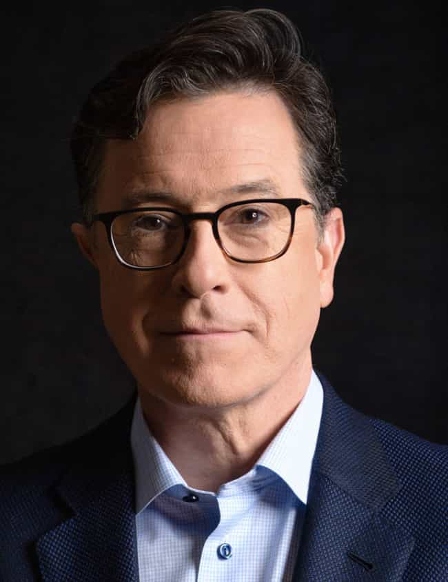 Stephen Colbert is listed (or ranked) 1 on the list 20 Famous People from Huge Families