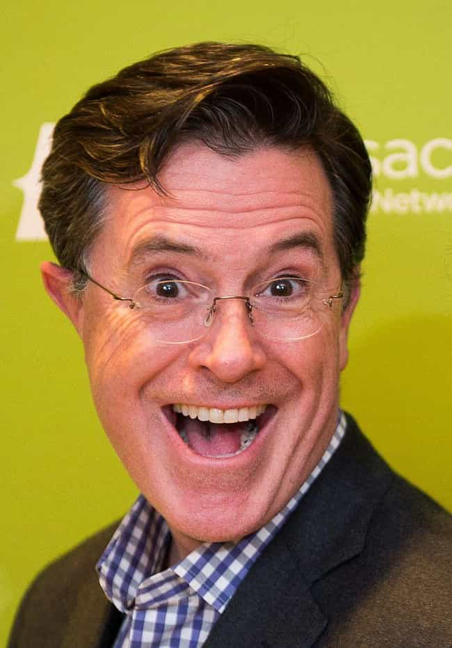 Stephen Colbert is listed (or ranked) 4 on the list Famous People Rejected by Saturday Night Live