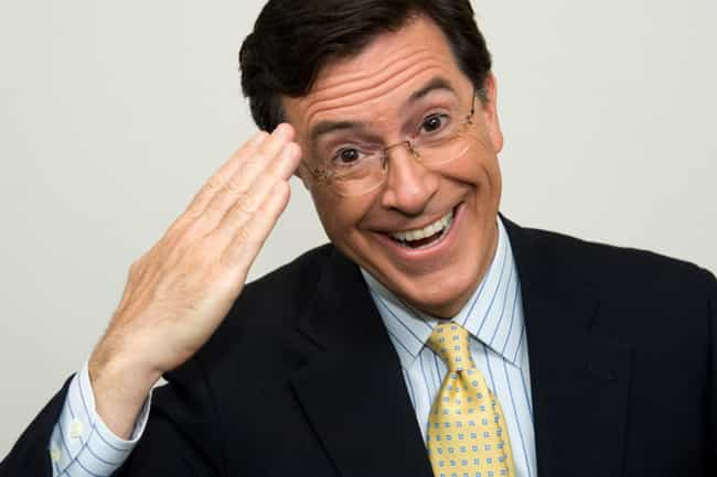 Stephen Colbert is listed (or ranked) 4 on the list 42 Famous People Rejected by Saturday Night Live