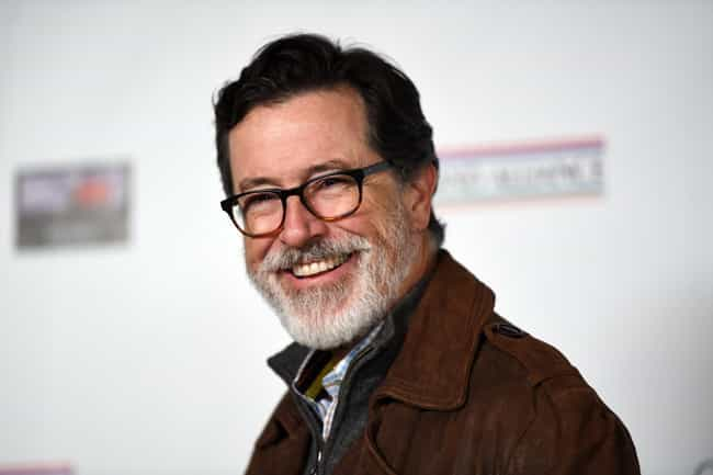 Stephen Colbert is listed (or ranked) 2 on the list The Best Celebrity Retirement Beards