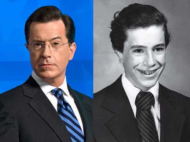 Stephen Colbert is listed (or ranked) 1 on the list Childhood Photos Of Famous TV Show Hosts