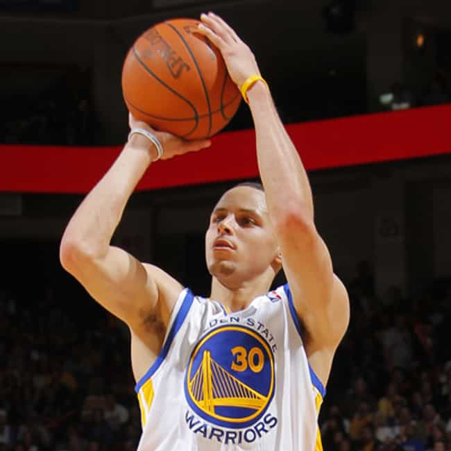 Stephen Curry is listed (or ranked) 1 on the list The Best Three-Point Shooters in NBA History