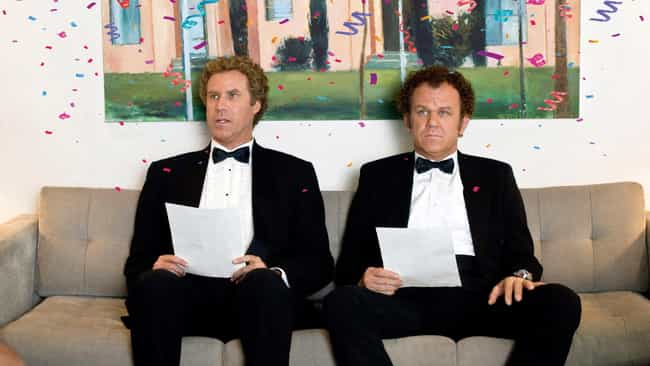 Step Brothers is listed (or ranked) 3 on the list Stupid Comedies That Are Secretly Brilliant
