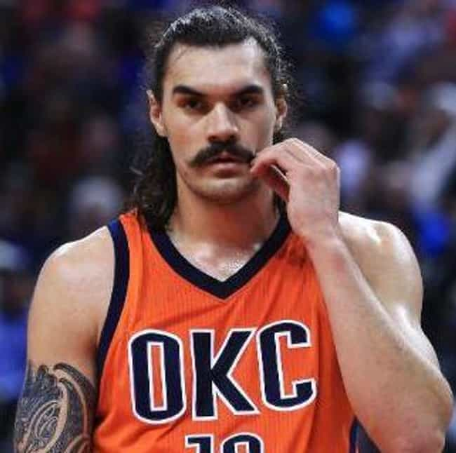 Steven Adams is listed (or ranked) 4 on the list The Coolest Hairstyles In The NBA Today
