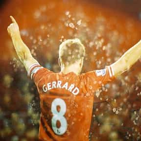 Steven Gerrard is listed (or ranked) 7 on the list Famous People Named Steve & Steven