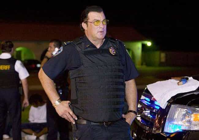 Steven Seagal is listed (or ranked) 2 on the list 12 Celebs Who Held On To Regular Jobs After Hitting It Big