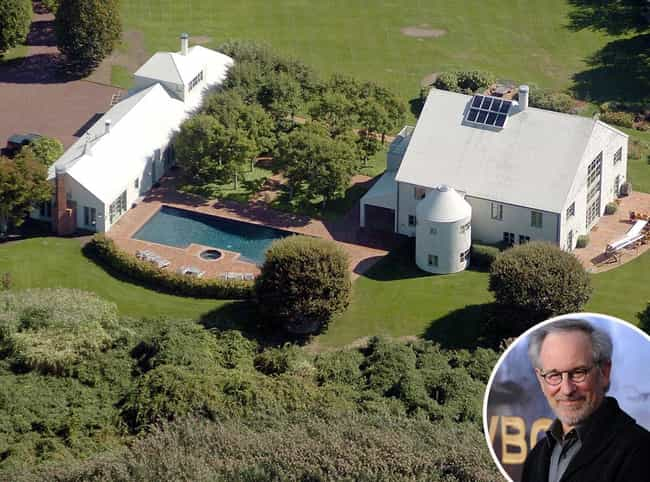 Steven Spielberg is listed (or ranked) 4 on the list 29 Celebrities Who Own Gorgeous Homes in the Hamptons