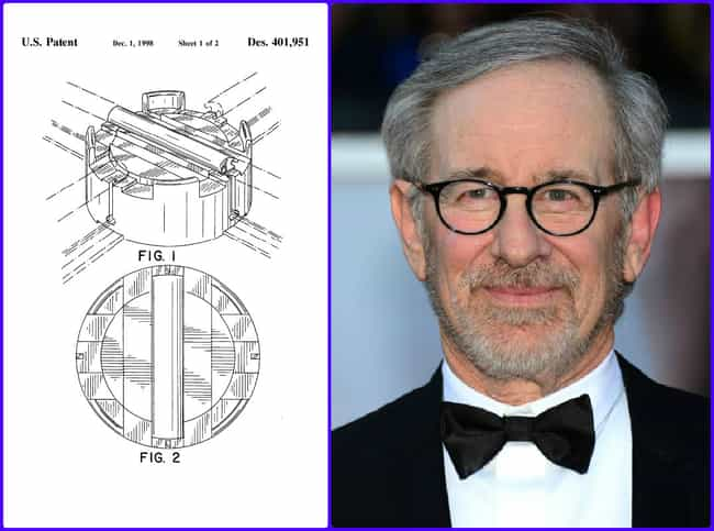 Steven Spielberg is listed (or ranked) 3 on the list 30 Celebrities Who Hold Patents