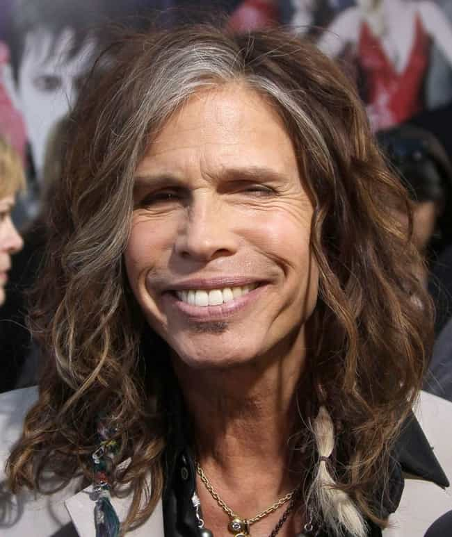Steven Tyler is listed (or ranked) 2 on the list 33 Famous People with Hepatitis C