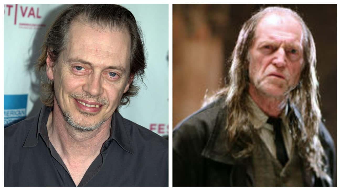 Steve Buscemi - Argus Filch