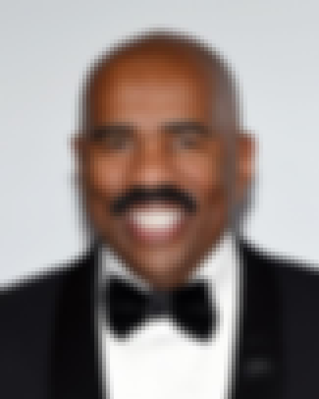Steve Harvey is listed (or ranked) 3 on the list List of Famous Entertainers