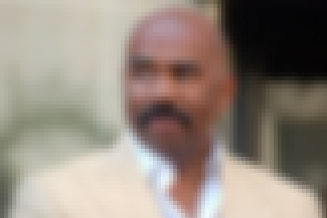 Steve Harvey is listed (or ranked) 1 on the list The Most Impressive TV Personality Mustaches