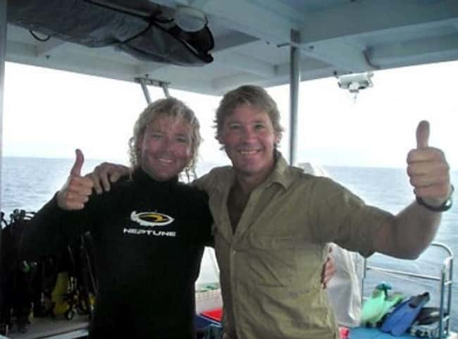 Steve Irwin is listed (or ranked) 5 on the list The Last Known Photos of 52 Famous People