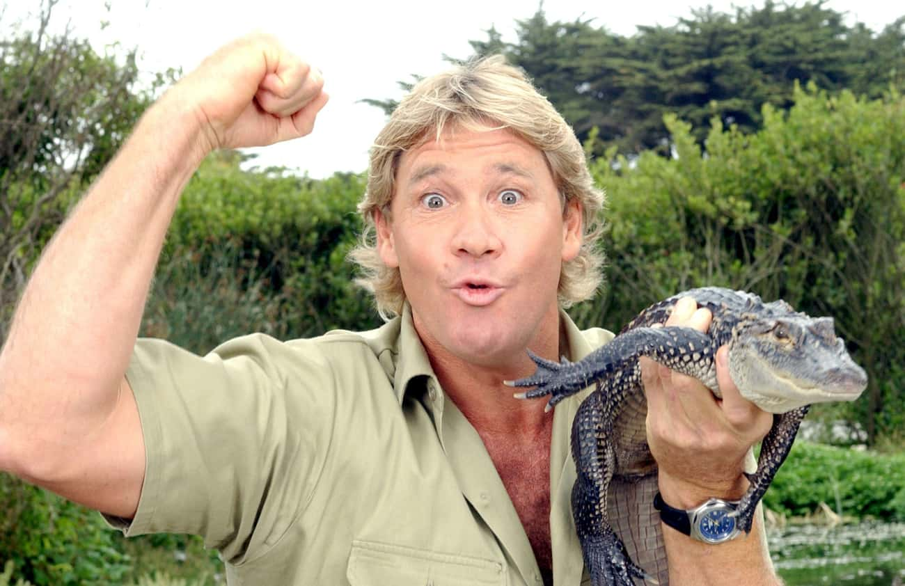 Steve Irwin is listed (or ranked) 2 on the list List of Famous Adventurers
