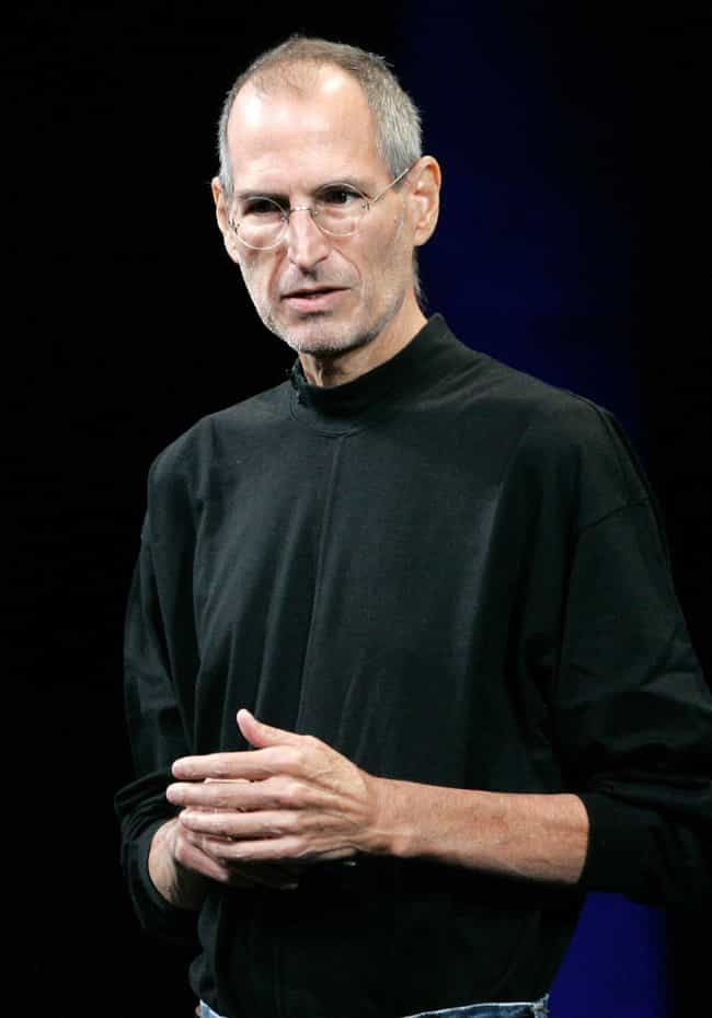 Steve Jobs is listed (or ranked) 1 on the list The 12 Greatest Entrepreneurs of Our Time