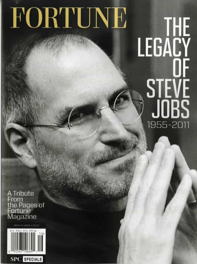 Steve Jobs is listed (or ranked) 2 on the list The Best Fortune Covers