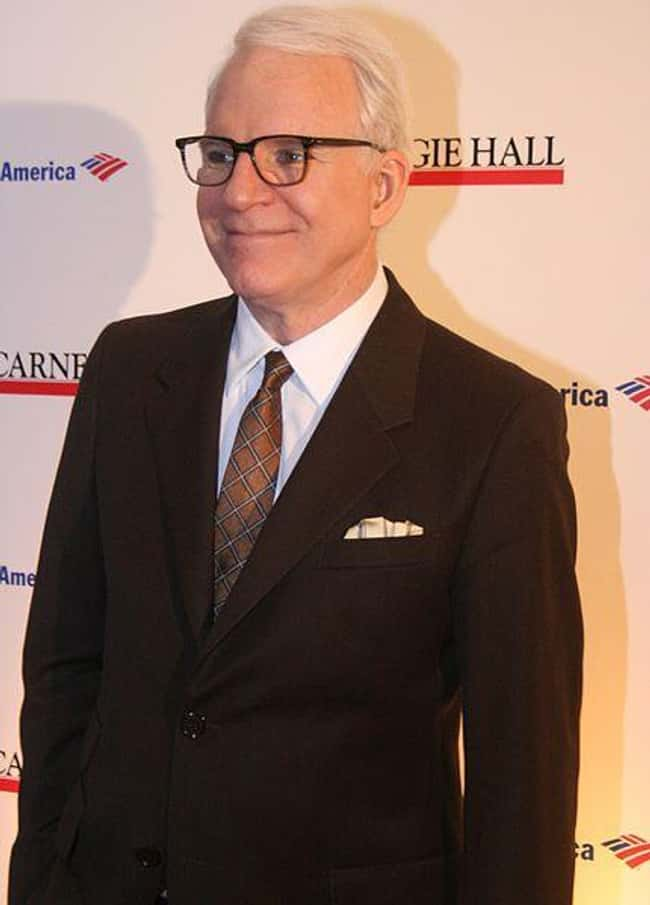 Steve Martin is listed (or ranked) 5 on the list Celebrities You Didn't Know Have Vitiligo
