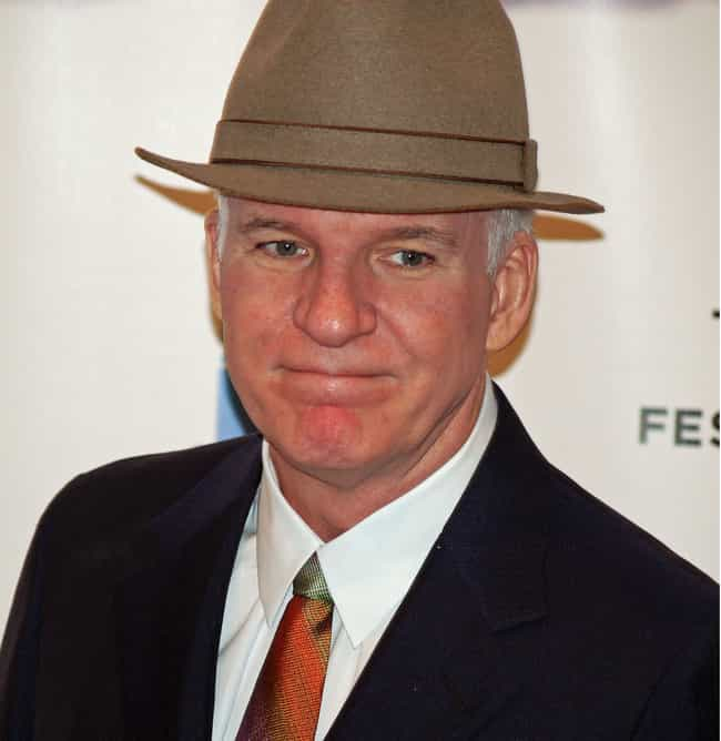 Steve Martin is listed (or ranked) 2 on the list 20 Celebrities Who Worked at Disney Parks