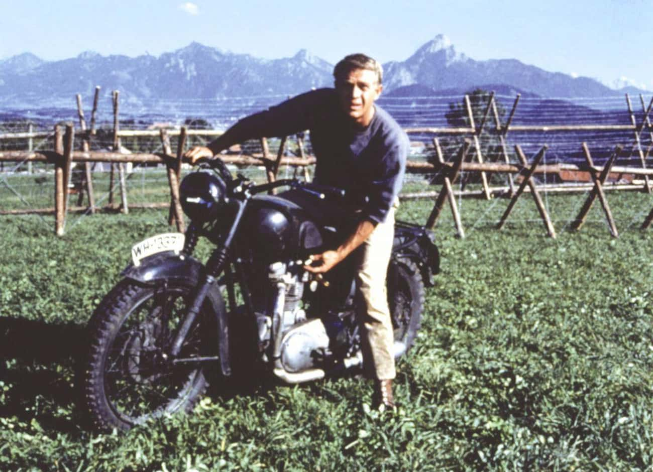 1963: Steve McQueen is listed (or ranked) 4 on the list Who Was Hollywood's Leading Man The Year You Were Born?