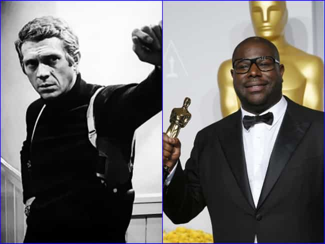 Steve McQueen is listed (or ranked) 4 on the list Famous People with the Same Real Name