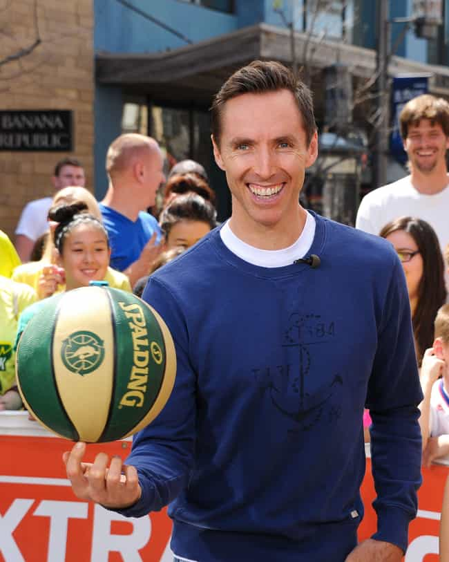 Steve Nash is listed (or ranked) 5 on the list The Top 25 Greatest Point Guards of All Time