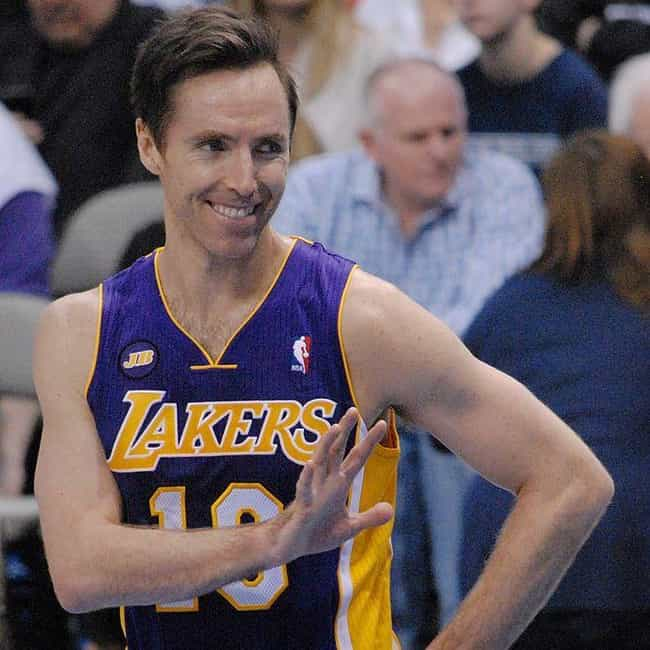 Steve Nash is listed (or ranked) 3 on the list The Best Athletes Who Wore #10