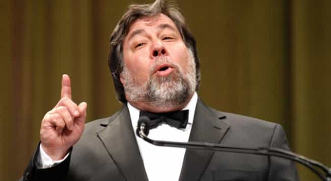 Steve Wozniak is listed (or ranked) 4 on the list Famous Male Computer Scientists