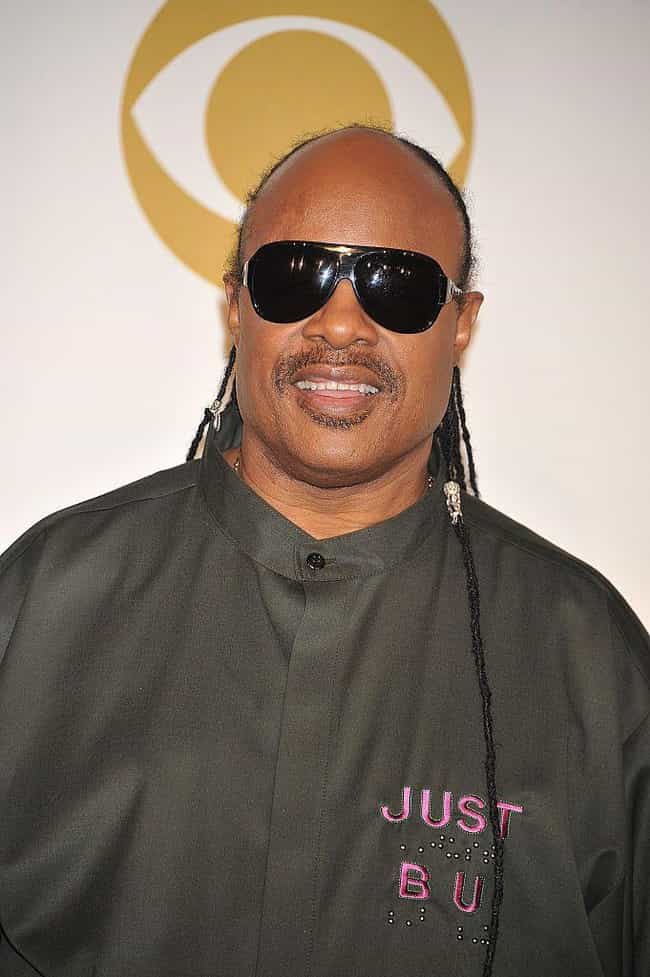 Stevie Wonder is listed (or ranked) 4 on the list Famous Blind People