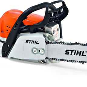 Stihl is listed (or ranked) 5 on the list The Best Power Tool Brands