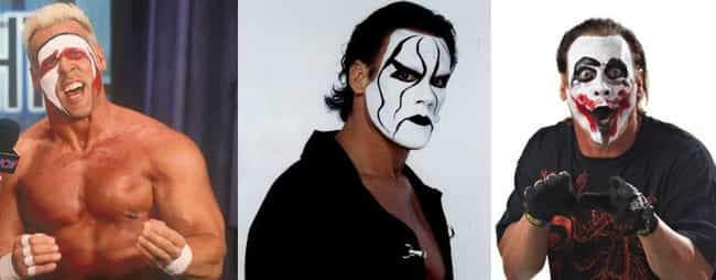 Steve Borden is listed (or ranked) 1 on the list The Best Face Paint in Wrestling History