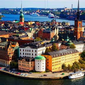 Stockholm - 59°19'N is listed (or ranked) 1 on the list All Global Cities, Listed North to South