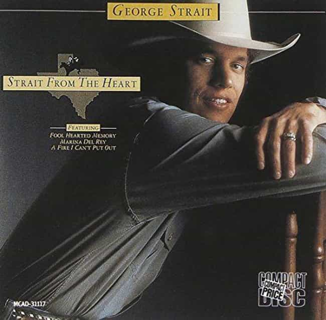 Strait From the Heart is listed (or ranked) 2 on the list The Best George Strait Albums of All Time