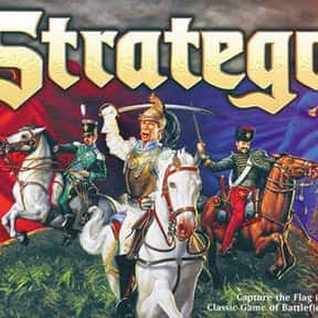 Stratego is listed (or ranked) 15 on the list The Best Board Games of All Time