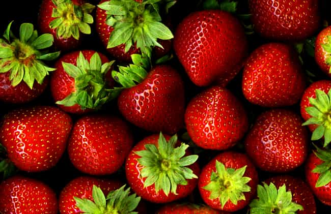 Strawberries is listed (or ranked) 1 on the list The Best Foods for IBS