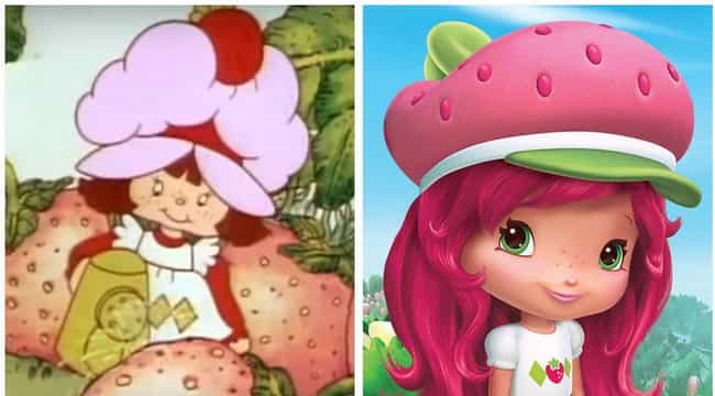 Strawberry Shortcake is listed (or ranked) 4 on the list 20 Iconic Cartoon Characters And Their Evolution Over Time