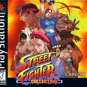 Street Fighter Collection is listed (or ranked) 16 on the list The Best Sega Saturn Fighting Games